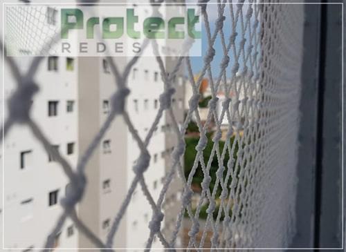 Instalação rede de proteção