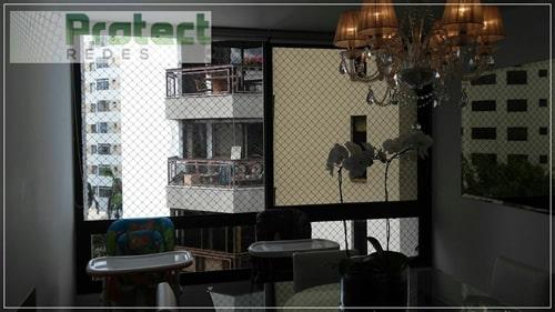 Rede de proteção de janela