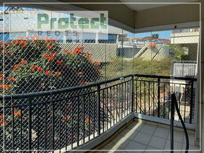 Rede de proteção para sacada