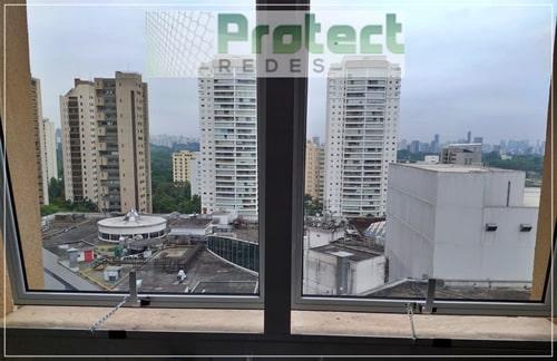Rede de segurança para janelas